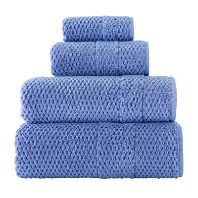 Полотенце махровое Arya «Arno» голубое