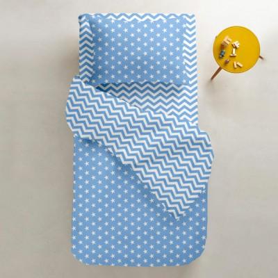 Комплект постельного белья бязь голд «StarB_zig_160» полуторка Cosas