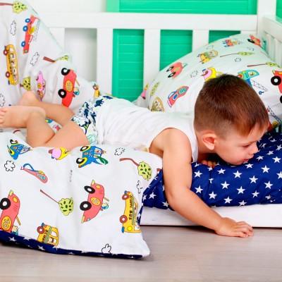 Комплект постельного белья бязь голд «Cars_Star» Cosas