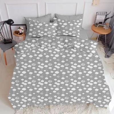 Комплект постельного белья ранфорс «CloudGrey_Grey» Cosas