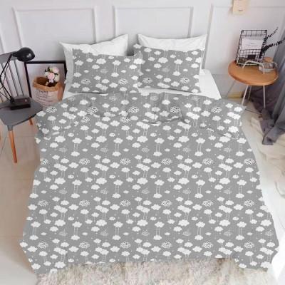 Комплект постельного белья ранфорс «CloudGrey_White» Cosas