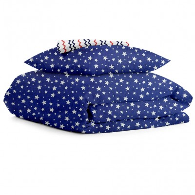 Комплект постельного белья бязь голд «StarBlue_Zig» Cosas