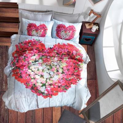 Постельное бельё 3D Cotton box ранфорс «Garden Vizon»