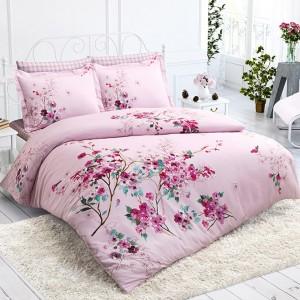 Комплект постельного белья Halley Home ранфорс «Cherry»