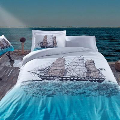 Постельное белье Cotton box ранфорс «Ship-Mavi»