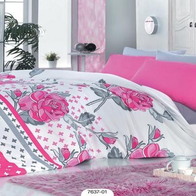 Комплект постельного белья Zambak «7637-01»