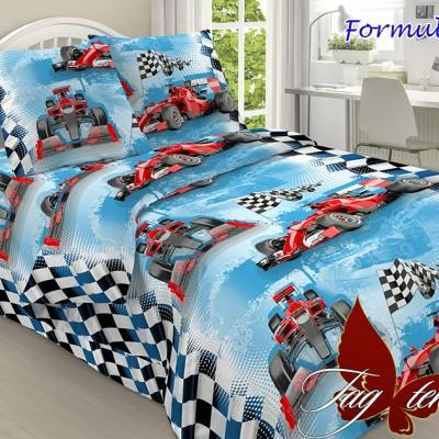 Комплект постельного белья «Formula 1» полуторный | TAG