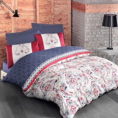 Комплект постельного белья ранфорс «Versage» Luoca Patisca