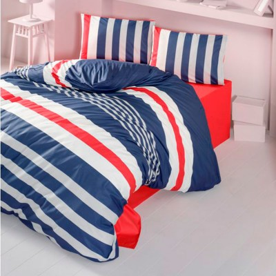 Комплект постельного белья ранфорс «Stripe» Light House