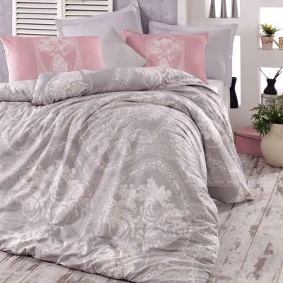 Комплект постельного белья ранфорс «Madam lili» серый   Light House