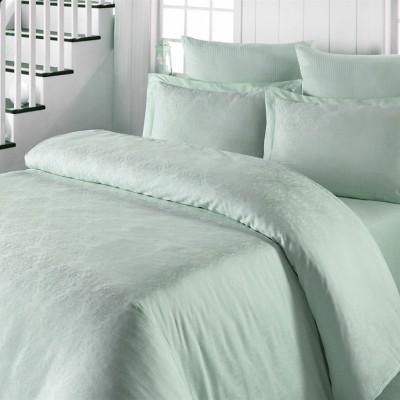 Комплект постельного белья сатин-жаккард «Exclusive» мята | Light House