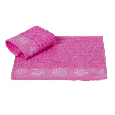 Полотенце кухонное «Meyve» розовый   Hobby