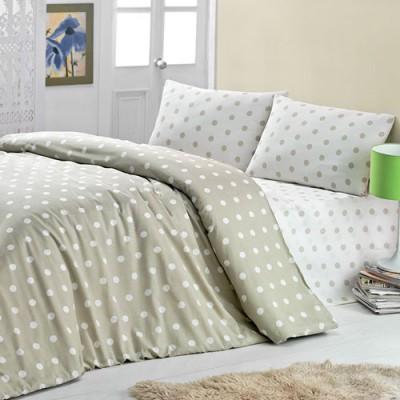 Комплект постельного белья бязь голд «Round» беж | Light House