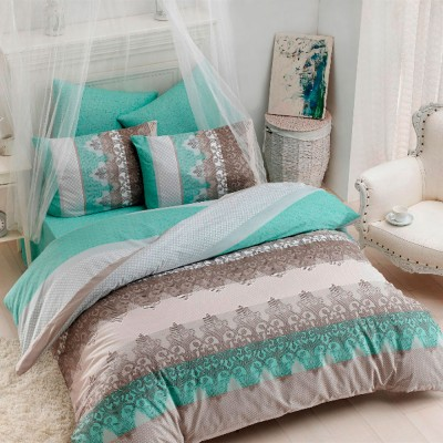 Комплект постельного белья ранфорс «Mint» Light House