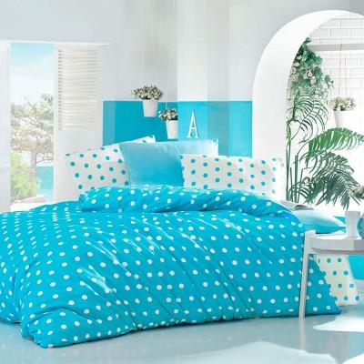 Комплект постельного белья бязь голд «Round» берюза | Light House