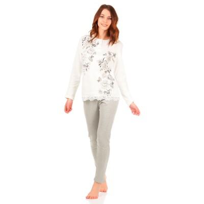 Комплект одежды «Clio» серый Nacshua