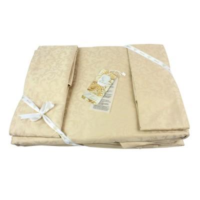 Комплект постельного белья сатин-жаккард «La Perle Sateen» беж La Perle