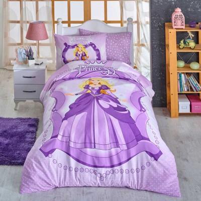 Комплект постельного белья ранфорс «Princess» сирень | Hobby