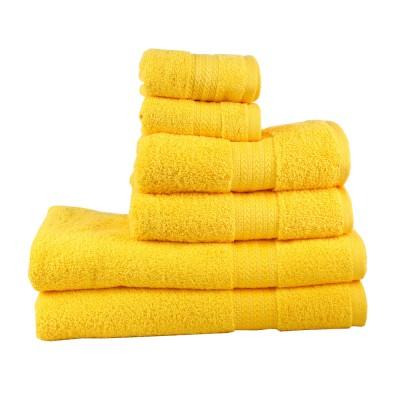 Полотенце «Rainbow» желтый Hobby