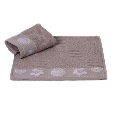 Полотенце кухонное «Meyve» серый   Hobby