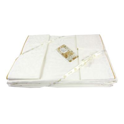 Комплект постельного белья сатин-жаккард «La Perle Sateen» белый La Perle