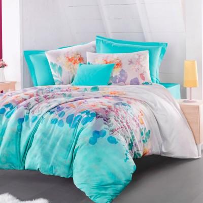 Комплект постельного белья ранфорс «Roomy» Luoca Patisca