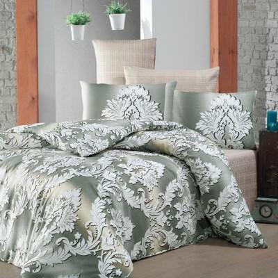 Комплект постельного белья бязь голд «Damask» евро| беж | Light House