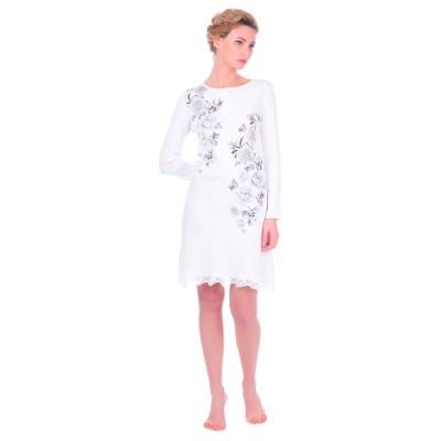 Комплект одежды «De Lelunay» крем-серый Nacshua