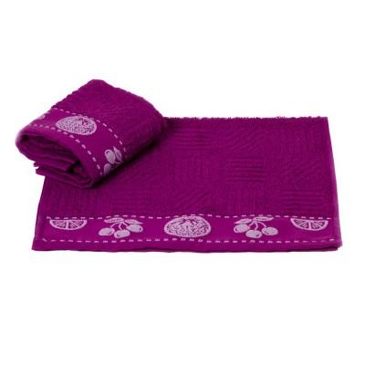 Полотенце кухонное «Meyve» фиолетовый   Hobby