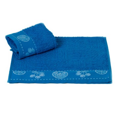 Полотенце кухонное «Meyve» голубой   Hobby
