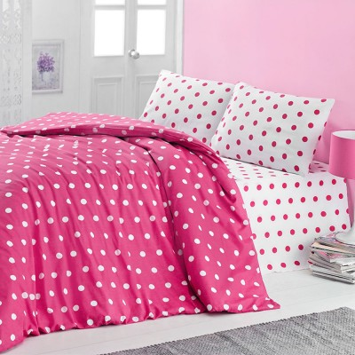 Комплект постельного белья бязь голд «Round» розовый Light House