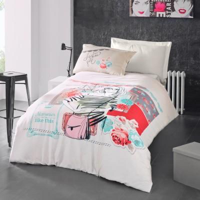 Комплект постельного белья ранфорс «Elodie» Luoca Patisca