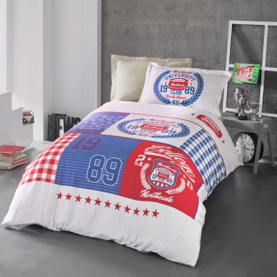 Комплект постельного белья ранфорс «Boris» Luoca Patisca