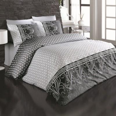 Комплект постельного белья бязь голд «Felicia» серый | Light House