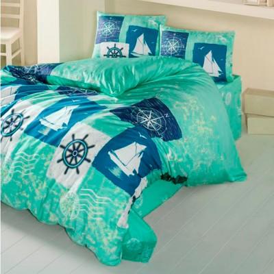 Комплект постельного белья ранфорс «Atlas» Light House