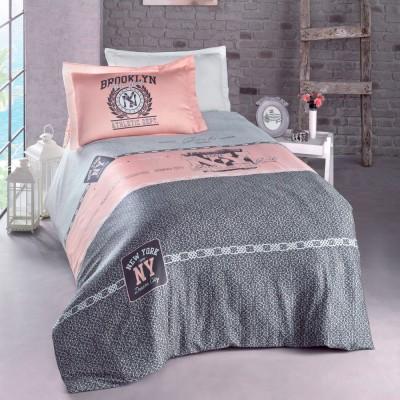 Комплект постельного белья ранфорс «Awesome» Luoca Patisca