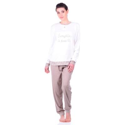 Комплект одежды «Lucienne» серый Jokami