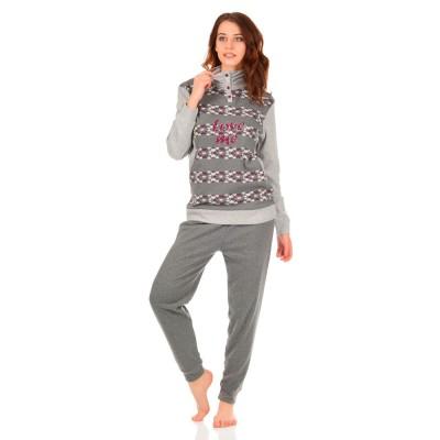 Комплект одежды «Unyca» серый Jokami