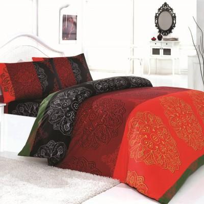 Комплект постельного белья бязь голд «Frappe» красный | Light House