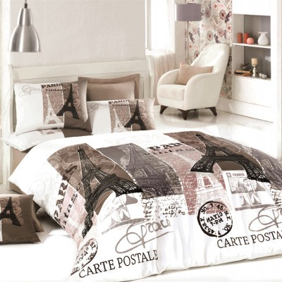 Комплект постельного белья ранфорс «Paris» Light House