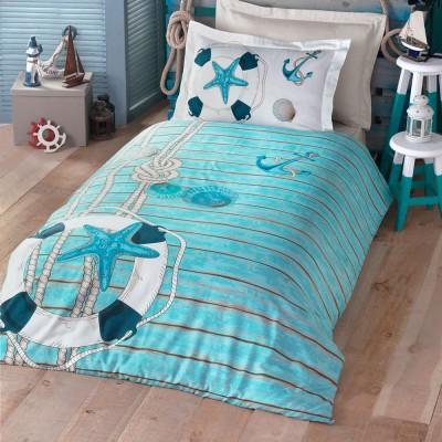 Комплект постельного белья ранфорс «Sea» Luoca Patisca