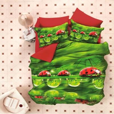 Комплект постельного белья 3D сатин «Ladybugs» Luoca Patisca