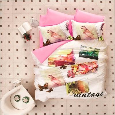 Комплект постельного белья 3D сатин «Vintage» Luoca Patisca