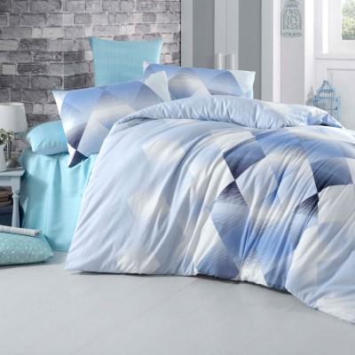 Комплект постельного белья бязь голд «Petek» голуб | Light House