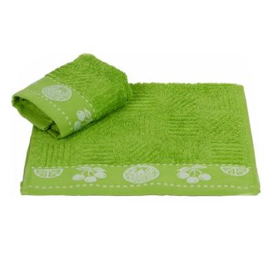 Полотенце кухонное «Meyve» зеленый   Hobby
