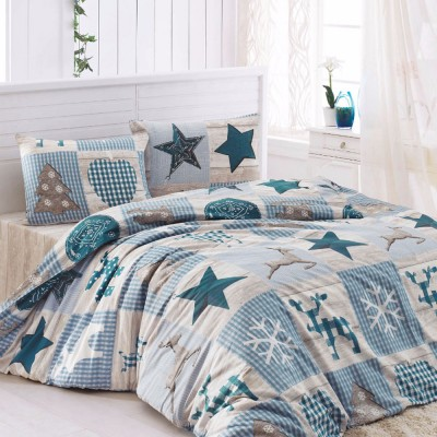 Комплект постельного белья бязь голд «Stars» голуб | Light House
