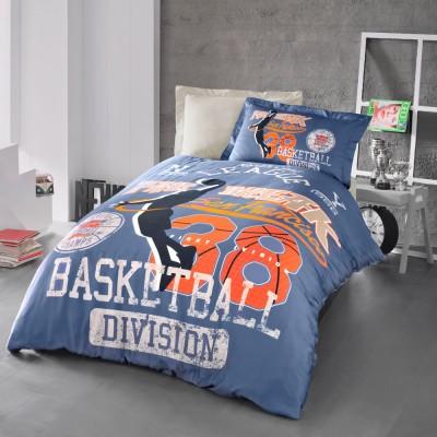 Комплект постельного белья ранфорс «Basketball» Luoca Patisca