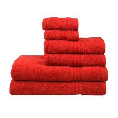 Полотенце «Rainbow Kirmizi» красный Hobby
