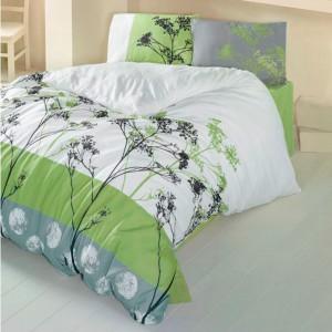 Комплект постельного белья бязь голд «Belezza» зеленый Light House
