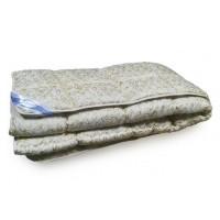 Одеяло Leleka Textile «Аляска шерсть» бежево-серое